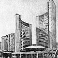 Toronto City Hall I Study by Duane Gordon