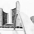 Toronto City Hall II Study by Duane Gordon