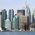 Toronto Downtown by Valentino Visentini