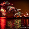 Toronto Fireworks by Elena Elisseeva