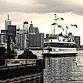 Toronto Island Ferry by Jim Finch