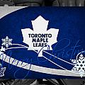 Toronto Maple Leafs Christmas by Joe Hamilton