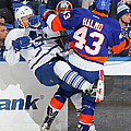 Toronto Maple Leafs V New York Islanders by Jim Mcisaac