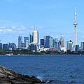 Toronto Ontario Canada Skyline by Davandra Cribbie