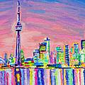 Toronto Skyline by Morgan  Ralston
