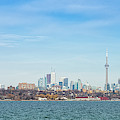 Toronto Skylines At The Waterfront by Panoramic Images