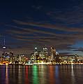 Toronto's Dazzling Skyline  by Georgia Mizuleva