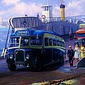 Torpoint Ferry. by Mike Jeffries