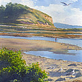 Torrey Pines Inlet by Mary Helmreich