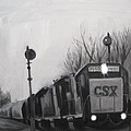 Torrit Train by Katrina West