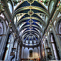 Tossa De Mar Church by Isaac Silman