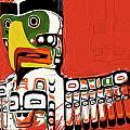 Totem Pole 02 by Catf