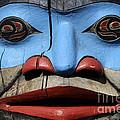 Totem Pole 4 by Bob Christopher