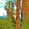 Totem Pole In Coachella Valley Preserve-california by Ruth Hager