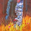 Totems Of Haida Gwaii by Mohamed Hirji