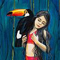 Toucan Girl by Eric  Morgan