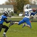 Touchdown Leap by Jim Finch