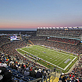 Touchdown New England Patriots  by Juergen Roth
