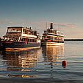 Tour Boats Lake Geneva Wi by Steve Gadomski