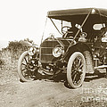 Touring Car On The Road California 1906 by California Views Archives Mr Pat Hathaway Archives