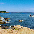 Touring The Rocky Shore by John M Bailey