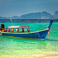 Tourist Longboat by Adrian Evans