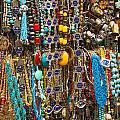 Tourist Souvenirs In Jersualem Israel by Jacek Malipan
