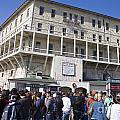 Tourists At Alcatraz Island by Jason O Watson