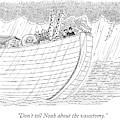 Tourists On Noah's Ark by Mick Stevens