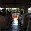 Tourists On The Sight-seeing Bus Run By The Hippo Company In Singapore by Ashish Agarwal