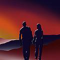 Toward The Light 3 Of 3 by Peter Stevenson
