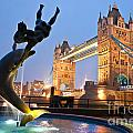 Tower Bridge - London by Luciano Mortula