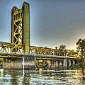 Tower  Bridge 2 Sacramento by SC Heffner
