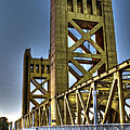 Tower Bridge 4 Sacramento by SC Heffner
