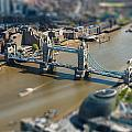 Tower Bridge And London City Hall Aerial View by Dutourdumonde Photography