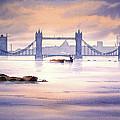 Tower Bridge London by Bill Holkham