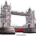 Tower Bridge - London by Frederic Kohli