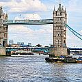 Tower Bridge Panorama by Jack Schultz