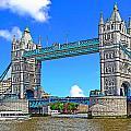 Tower Bridge by Peter Allen
