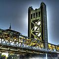 Tower Bridge Sacramento by SC Heffner