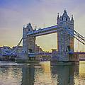 Tower Bridge Sunrise by Chris Thaxter