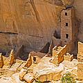 Tower House Panorama In Mesa Verde by Gene Norris