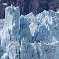 Tower In Margerie Glacier by Mike Wheeler