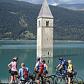 Tower In The Lake by Travel Pics