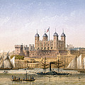 Tower Of London, 1862 by Achille-Louis Martinet