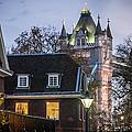 Tower Of London Christmas Tree by Glenn DiPaola
