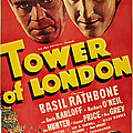 Tower Of London, Top L-r Boris Karloff by Everett