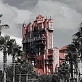 Tower Of Terror  In Color by Eric Liller