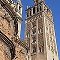 Tower Of The Seville Cathedral by Artur Bogacki