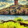 Tower On The Bluff by Jeffrey Kolker